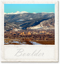 Vacation in Boulder